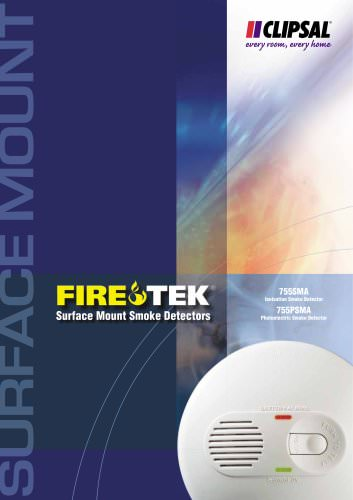Firetek Surface Mounted Smoke Detectors