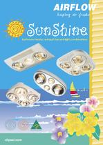 Sunshi_ne Bathroom Heater, Exhaust Fan and Light Combinations