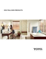 2012 FALL NEW PRODUCTS