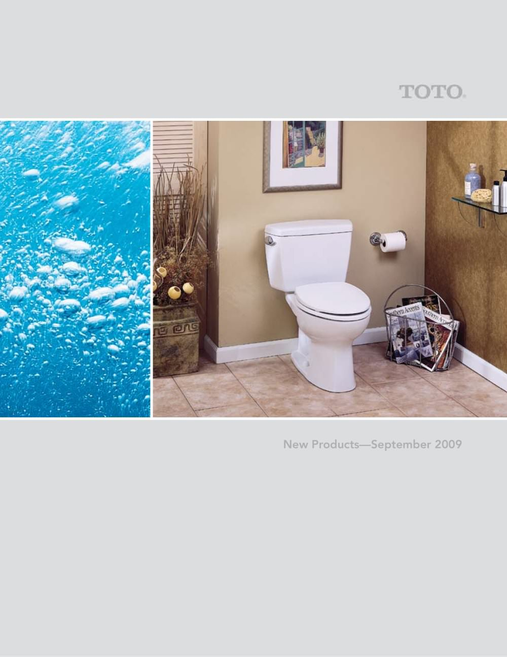 New Products September 2009 - Toto - PDF Catalogues   Documentation ...