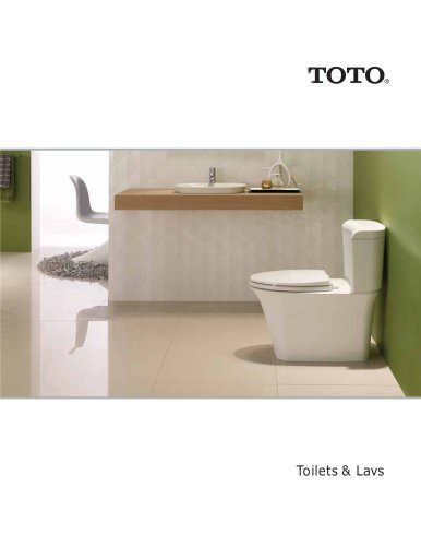 TOILETS & LAVS PRODUCTS BROCHURE - AUGUST 2012