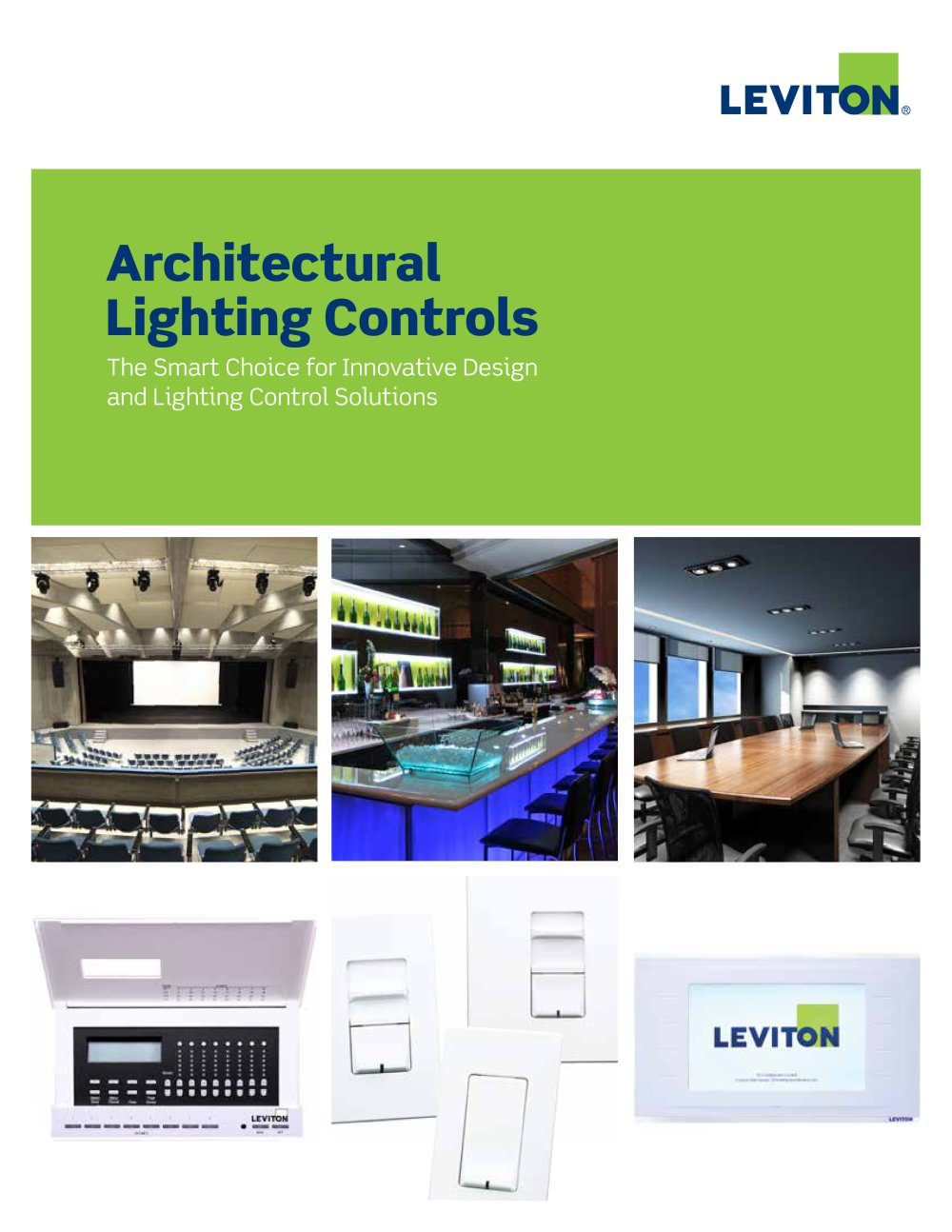 Architectural Lighting Controls - LEVITON Lighting - PDF Catalogues ...