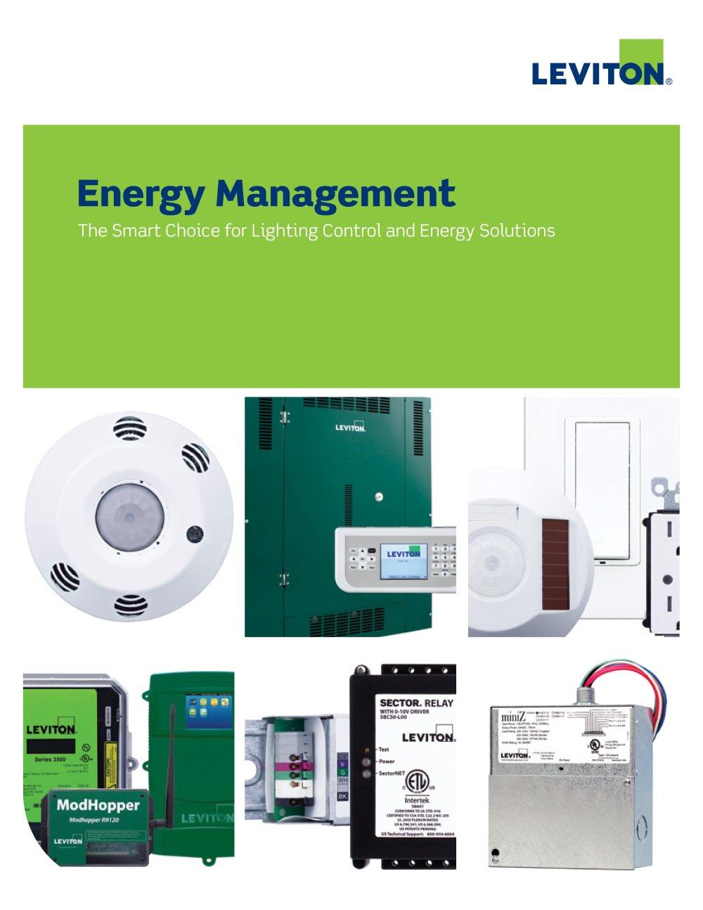 Catalog - Energy Management - LEVITON Lighting - PDF Catalogues ...