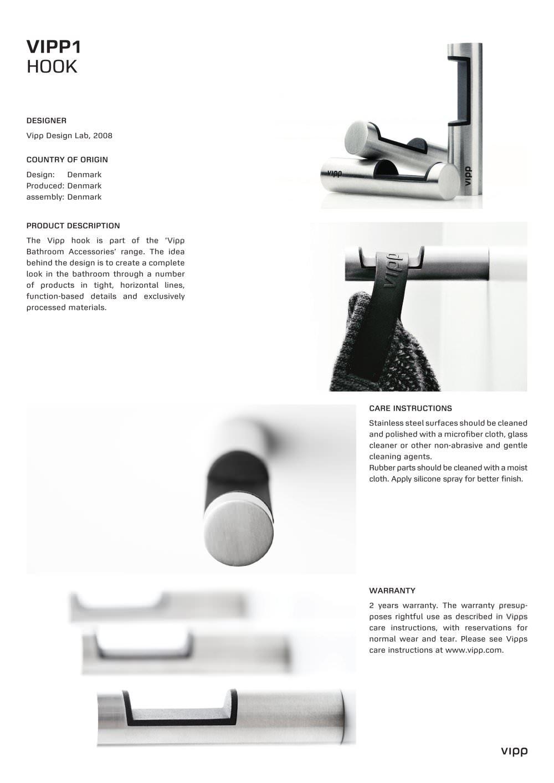 Vipp1 Vipp Pdf Catalogues Documentation Brochures