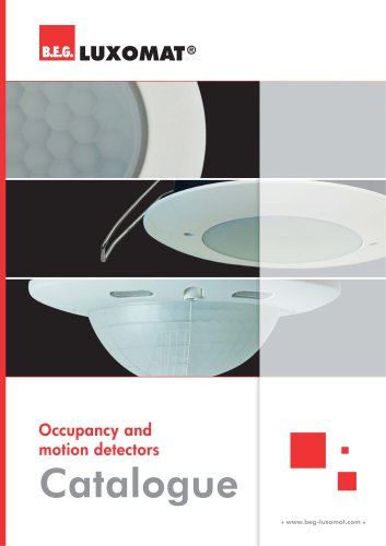 Occupancy and motion detectors