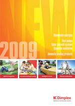 The latest innovations for 2009 - Renewable Energies