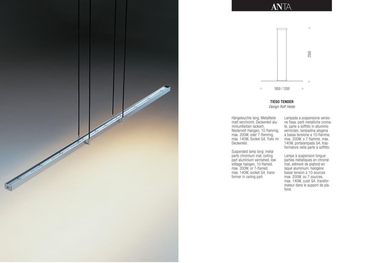 Unglaublich Anta Leuchten Referenz Von Tieso Tender - 1 / 1 Pages