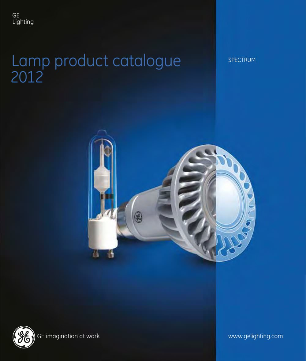 L& Products (Spectrum) - 1 / 156 Pages & Lamp Products (Spectrum) - GE Lighting - PDF Catalogues ...