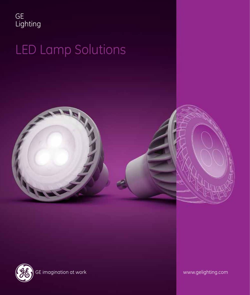 LED L& Solutions (Spectrum) - 1 / 16 Pages & LED Lamp Solutions (Spectrum) - GE Lighting - PDF Catalogues ... azcodes.com