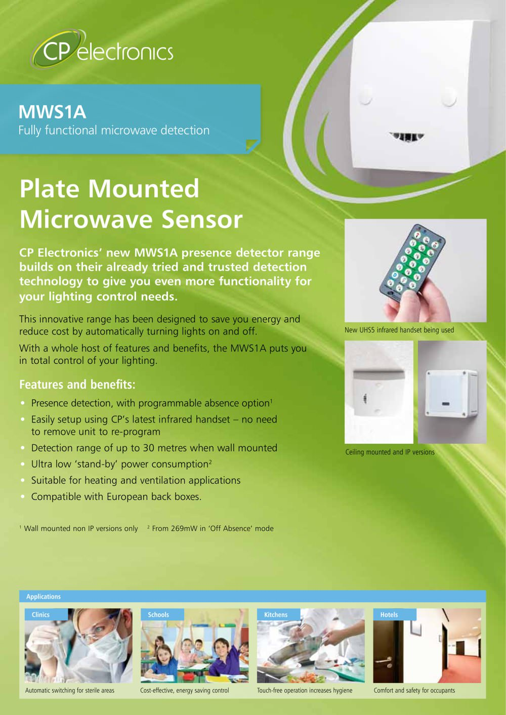 mws1a brochure cp electronics pdf catalogues documentation