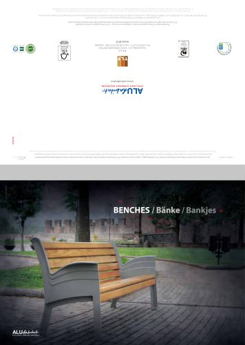 Sabaudo Collection: Benches