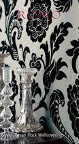 Lasari Flock Wallcoverings