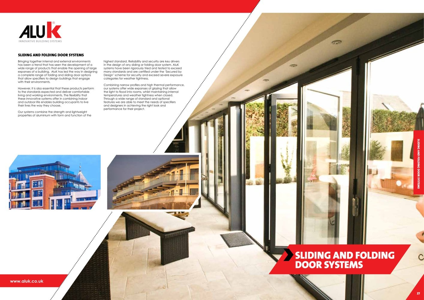 Sliding and Folding Door Systems - ALUK GROUP - PDF Catalogues ...