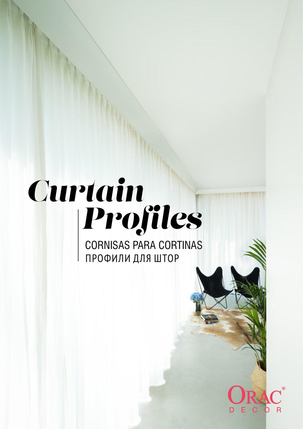 Orac Decor Curtain Profiles Profili Per Tende Bianchi Lecco Srl
