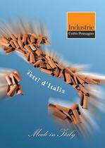 Brochure &quot;Made in Italy&quot; from page 01 to 25