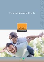 Thermo-Acoustic Panels