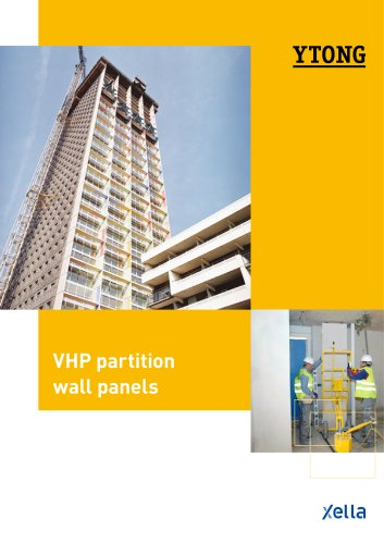 VHP partition  wall panels
