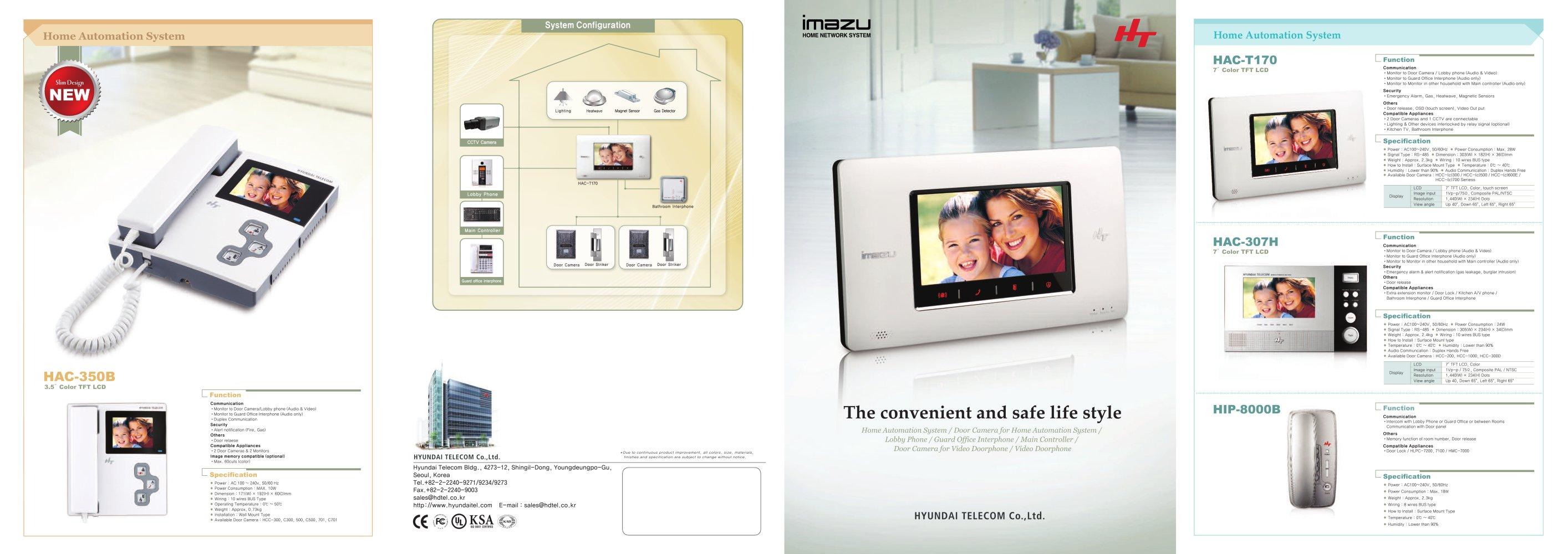 Hyundai Telecom Reflet Pdf Catalogues Cctv Wiring Diagram 1 2 Pages