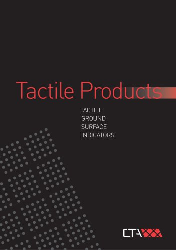 CTA Tactiles Brochure