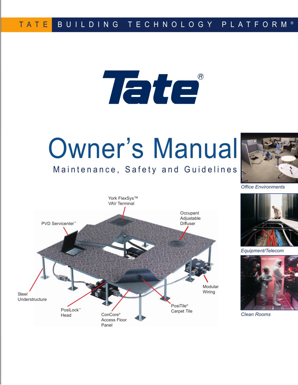 Owners Manual Tate Access Floors Pdf Catalogues Documentation