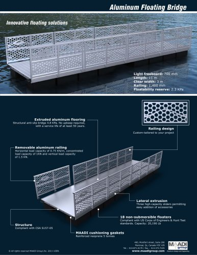 Floating Bridge - MAADI Group - PDF Catalogs | Documentation