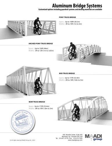 MAADI group aluminum bridge models