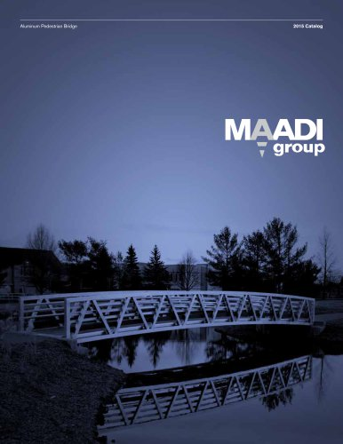 MAADI Group Aluminum Pedestrian Bridge Catalog