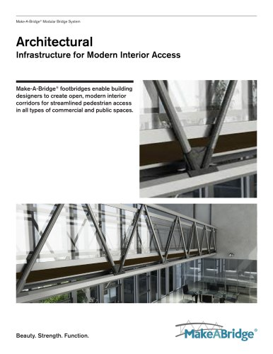 Make-A-Bridge® Modular Bridge - Architectural