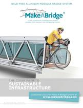 Make-A-Bridge modular pedestrian bridge catalog