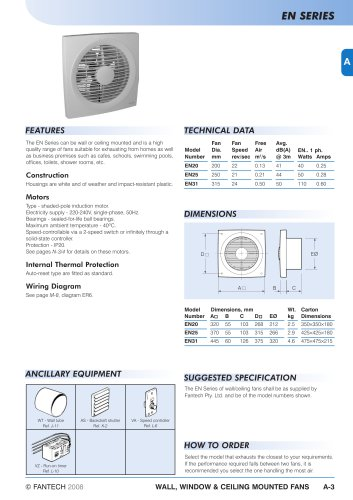 Fantech Wiring Diagrams - Diagrams Catalogue on