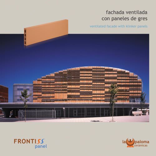 Ventilated façade Frontiss Panel