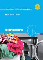 HIGH SPIN WASHING MACHINE LM MAXI