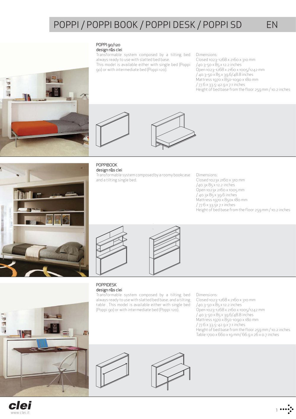 Single bed dimensions in mm - Poppi Poppi Book Poppi Desk Poppi Sd 1 2 Pages
