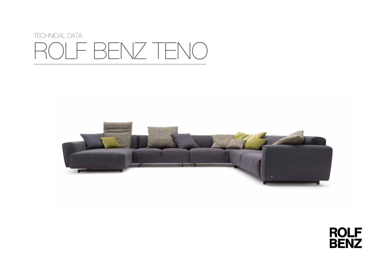 rolf benz ag. ROLF BENZ TENO - 1 / 4 Pages Rolf Benz Ag E