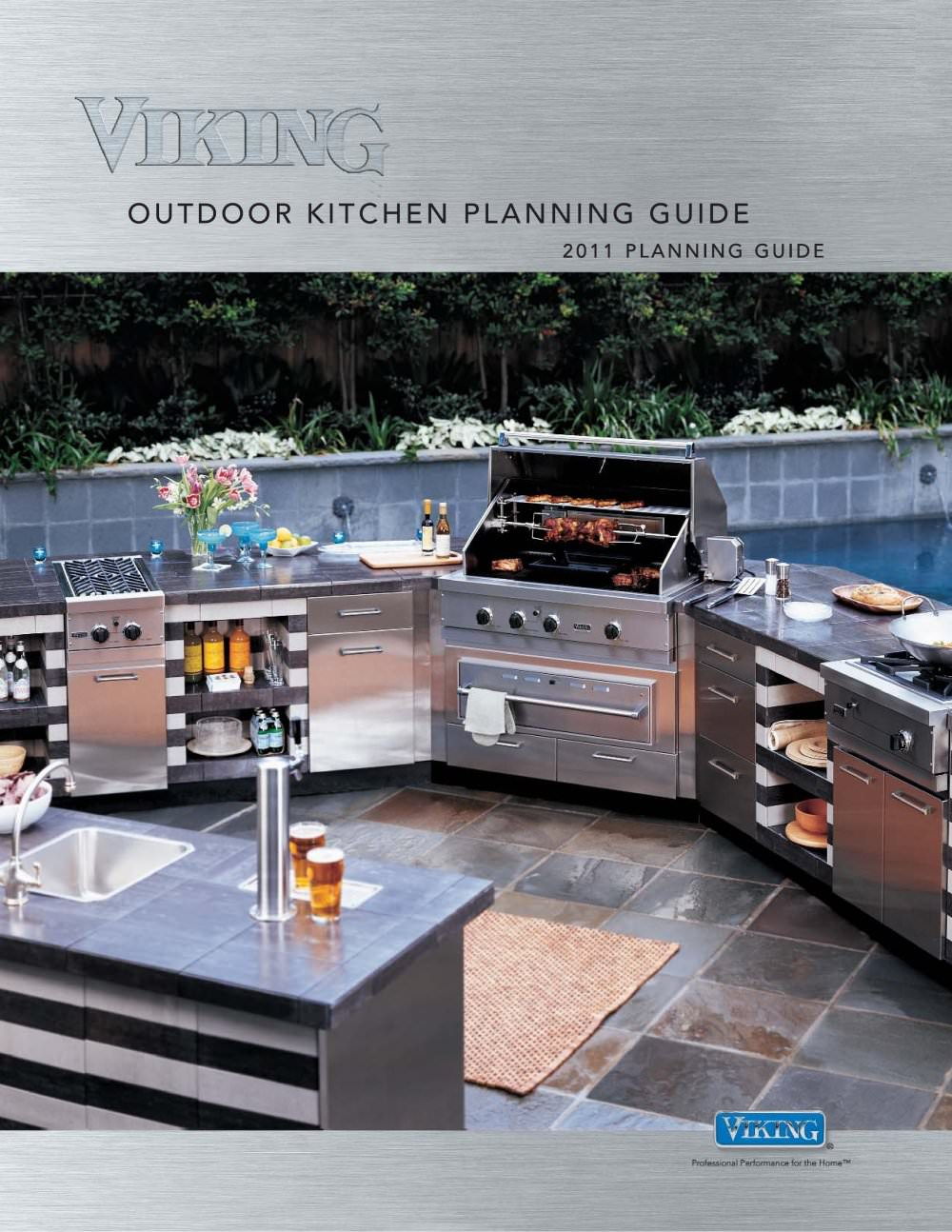 Elegant VIKING OUTDOOR KITCHEN PLANNING GUIDE   1 / 27 Pages