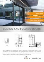 SLIDING AND FOLDING DOORS