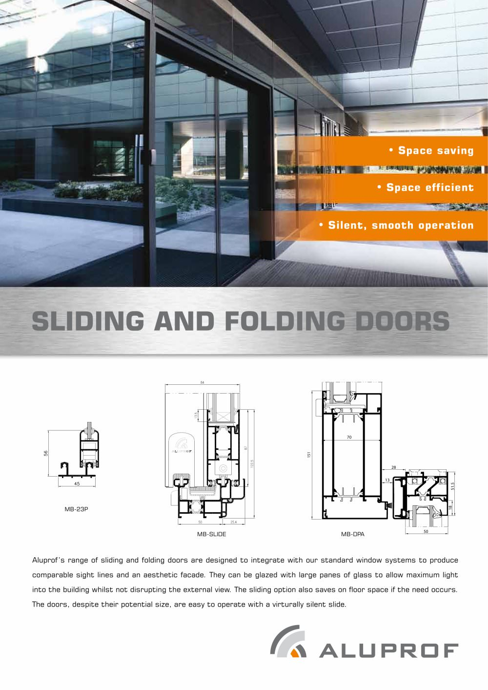 SLIDING AND FOLDING DOORS - 1 / 2 Pages  sc 1 st  Catalogues Archiexpo : mb doors - pezcame.com