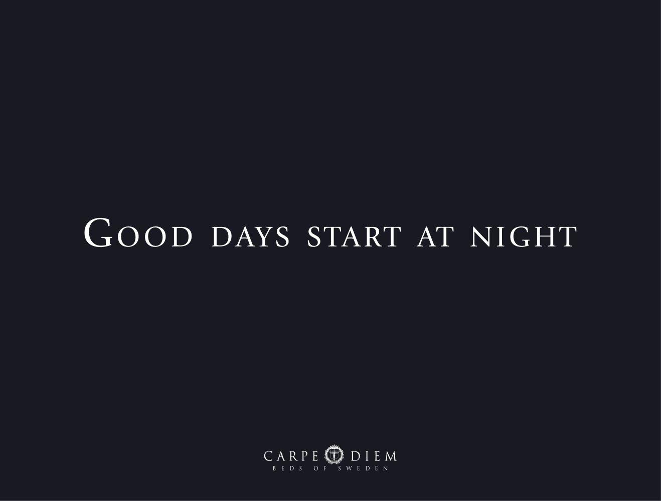 Good Days Start At Night Carpe Diem Pdf Catalogs Documentation