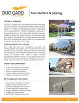 Bike shelters & parking