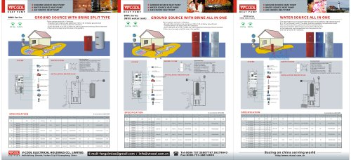 V-COOL Catalogue 2007 (Heat Pump & Air conditioner)