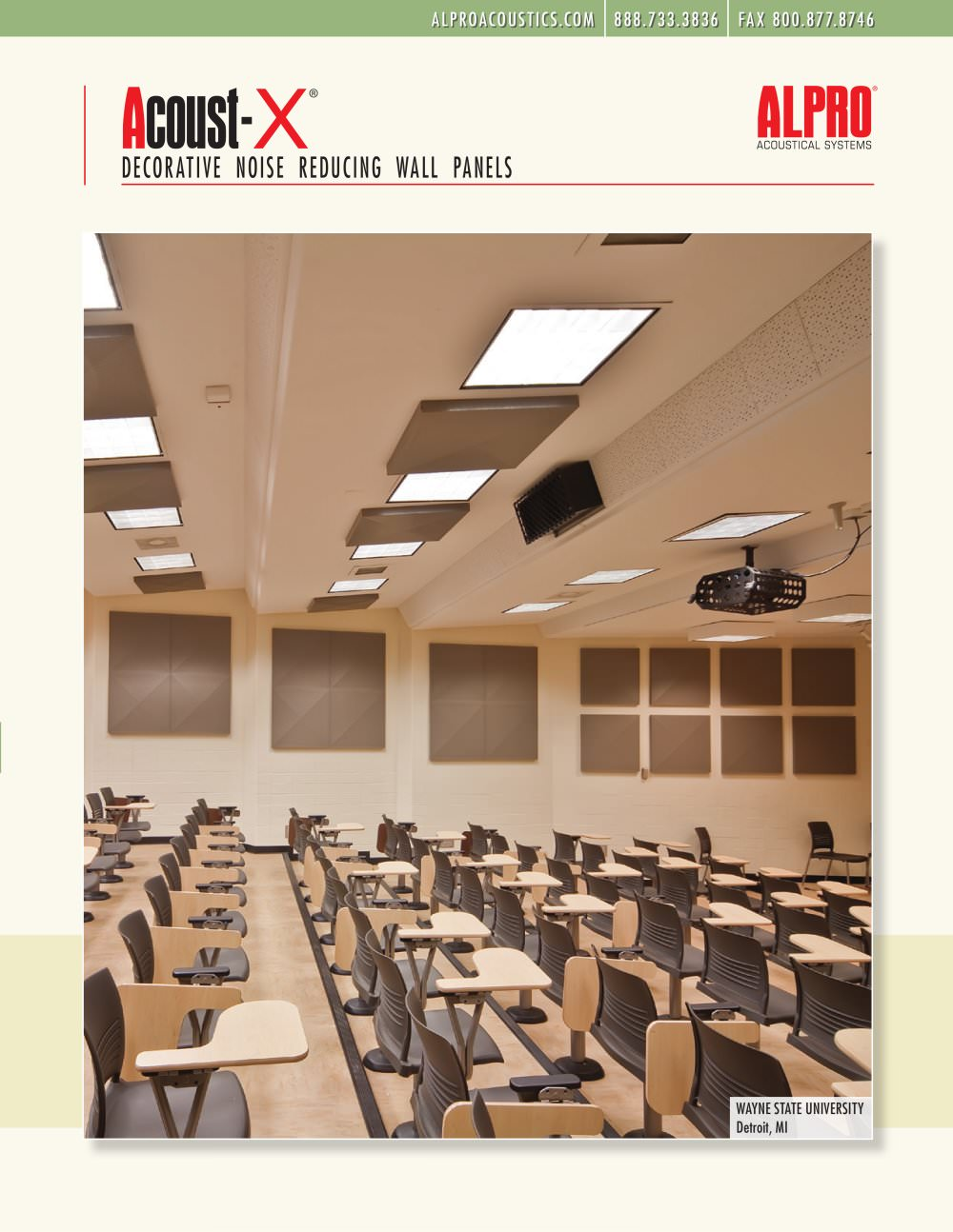 Acoust-X® - Gordon Inc. - PDF Catalogues | Documentation | Brochures