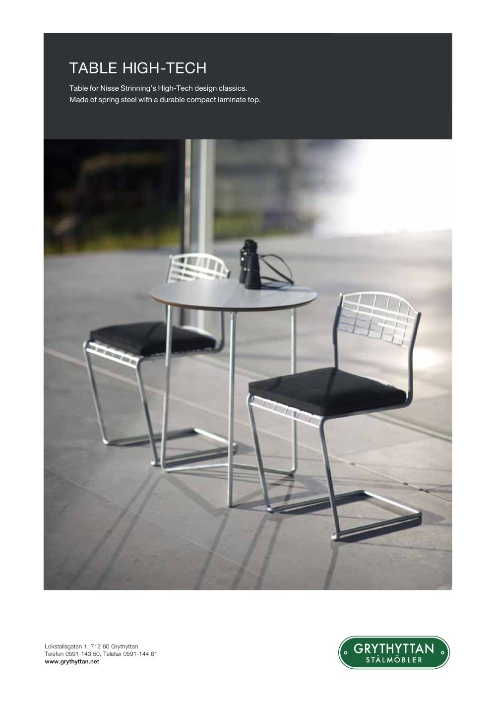 table high-tech - GRYTHYTTAN - PDF Catalogues | Documentation ...