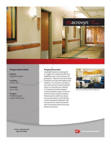 Lakeside Hospital Case Study - CS - Construction Specialties - PDF