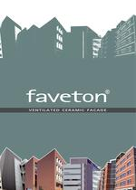 FAVETON VENTILATED CERAMIC FACADE