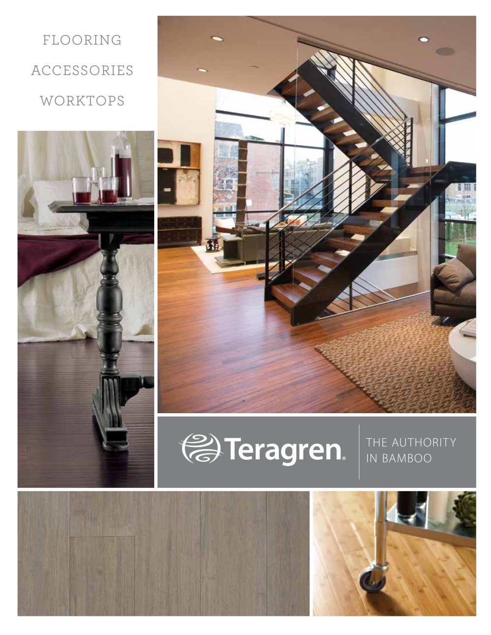 Teragren Flooring Brochure 2014   1 / 16 Pages