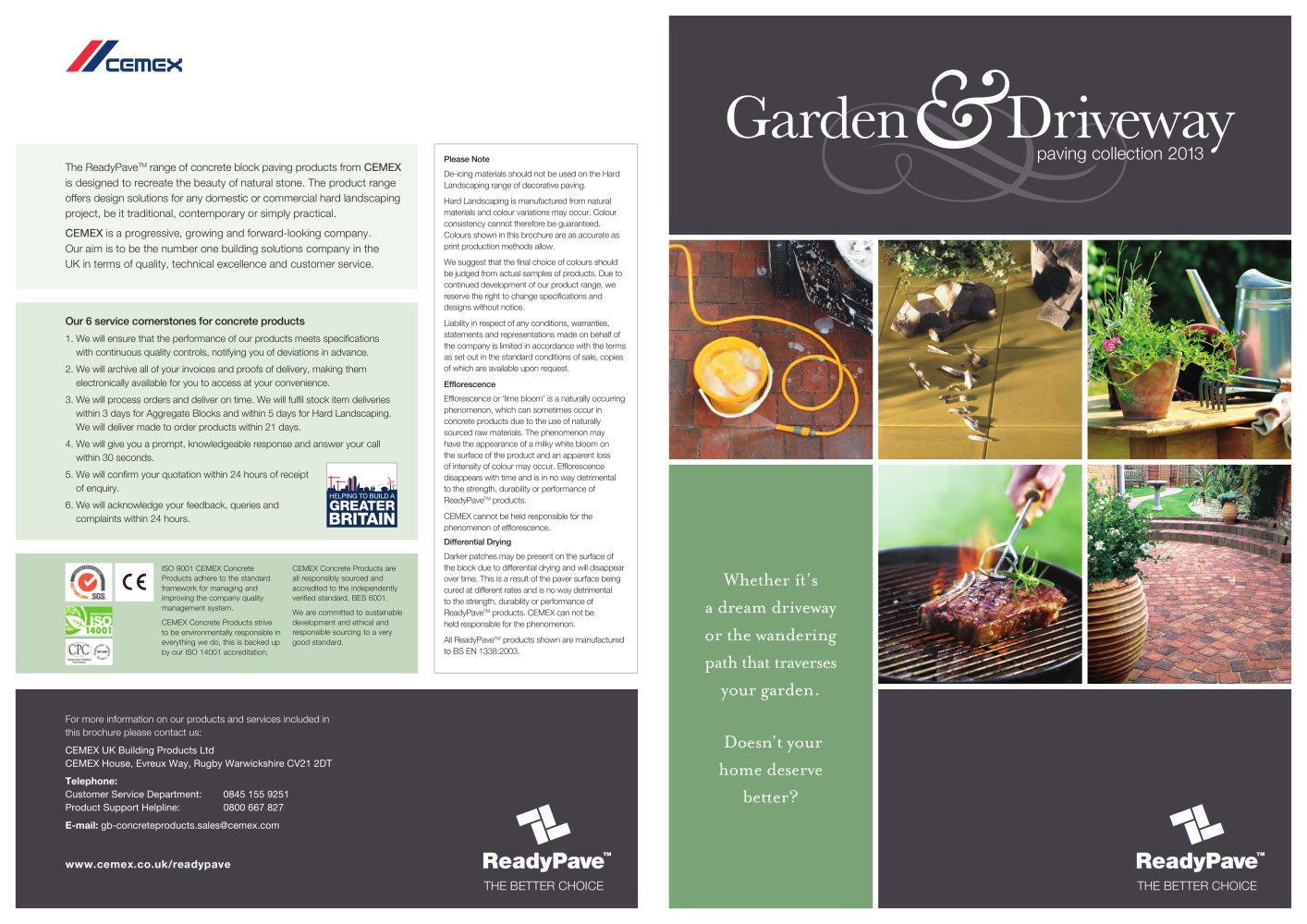 GARDEN AND DRIVEWAYS 2013 Cemex PDF Catalogues Documentation