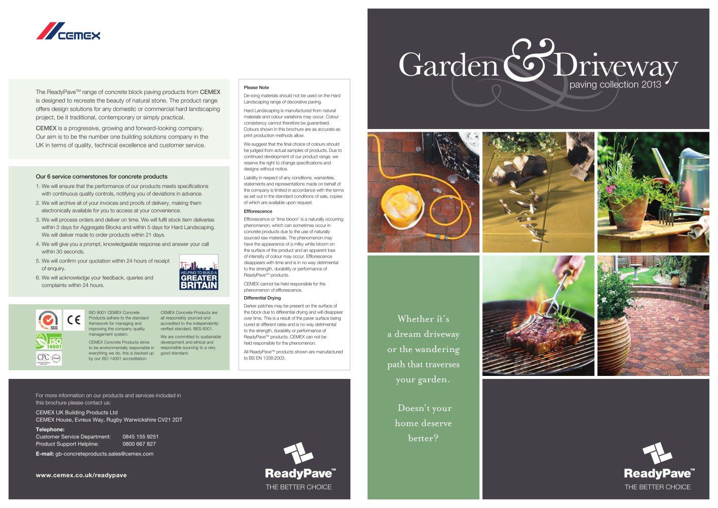 GARDEN AND DRIVEWAYS 2013 Cemex PDF Catalogues Documentation