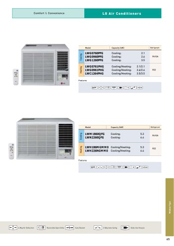 Air Conditioner Window Type Brochure
