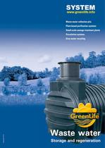Catalog Wastewater storage and regeneration System