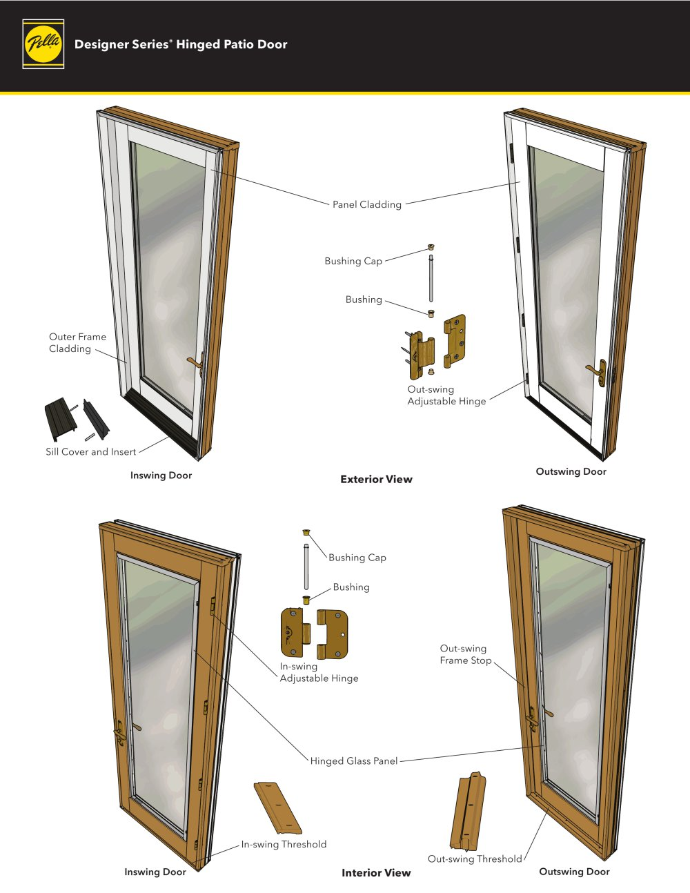 Designer Series Hinged Patio Door 1 2 Pages